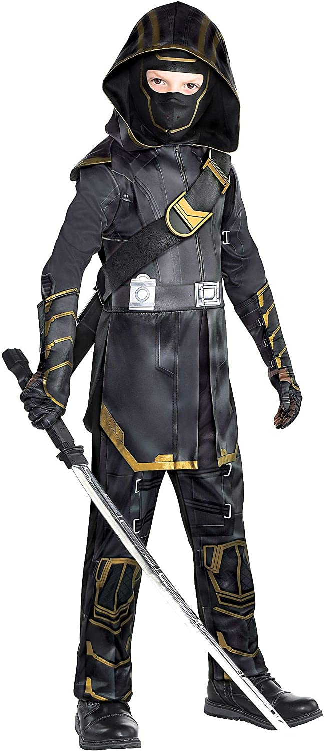 Party City Avengers: Endgame Ronin Costume for Children, Includes a Jumpsuit, a Hood, Gloves, and a Mask