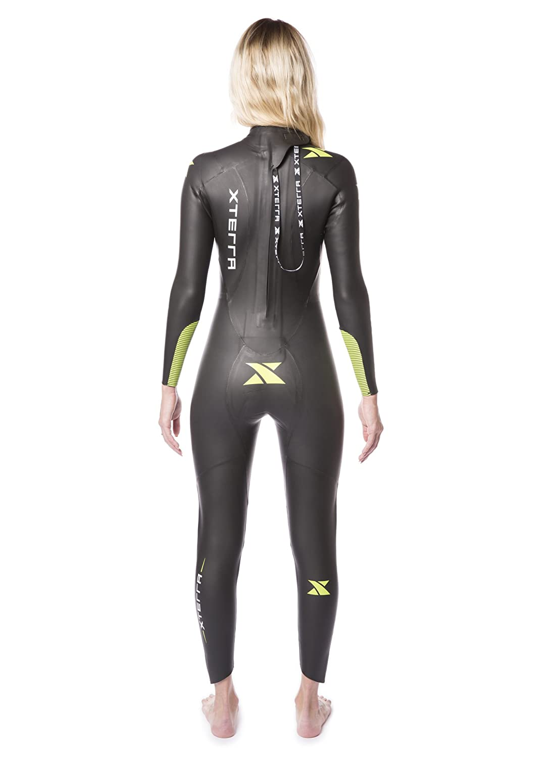 add99a4ca68cb Xterra Wetsuits - Women s Volt Triathlon Wetsuit - Full Body Neoprene Wet  Suit (3mm Thickness)