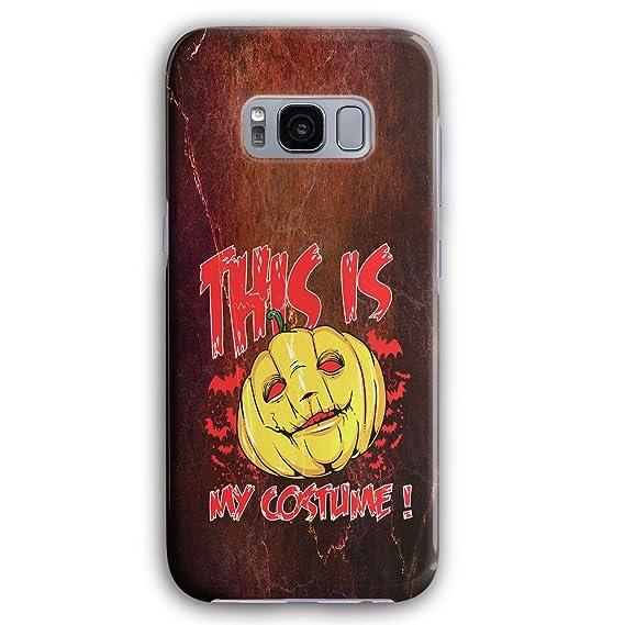 halloween costume horror 3d samsung galaxy s8 case wellcoda