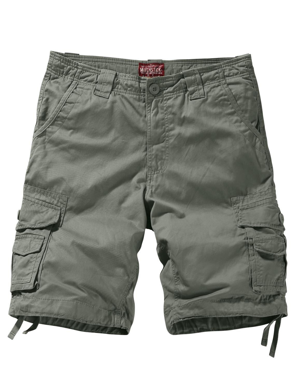 Match Men's Comfort Cargo Short (Label size 3XL/38 (US 36), 3057 R-Green)
