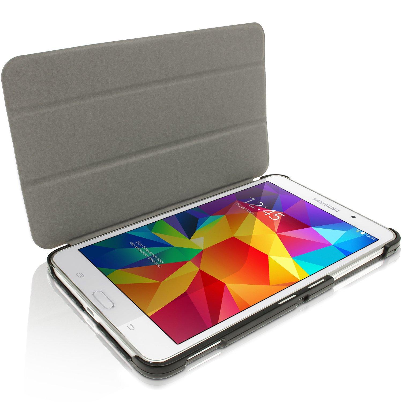igadgitz Negro Funda Eco Cuero para Samsung Galaxy Tab 4 7