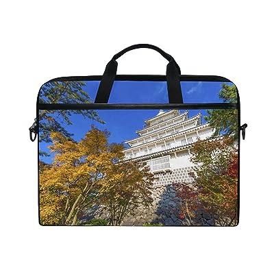 30%OFF Countriy Japan Nagasaki Laptop Shoulder Messenger Bag Case Sleeve For 14 Inch To 15.6 Inch With Adjustable Notebook Shoulder Strap