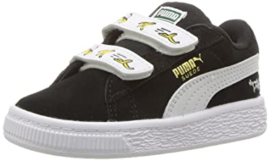 half off a2c53 fa15c Amazon.com   PUMA Minions Suede Kids Sneaker   Sneakers
