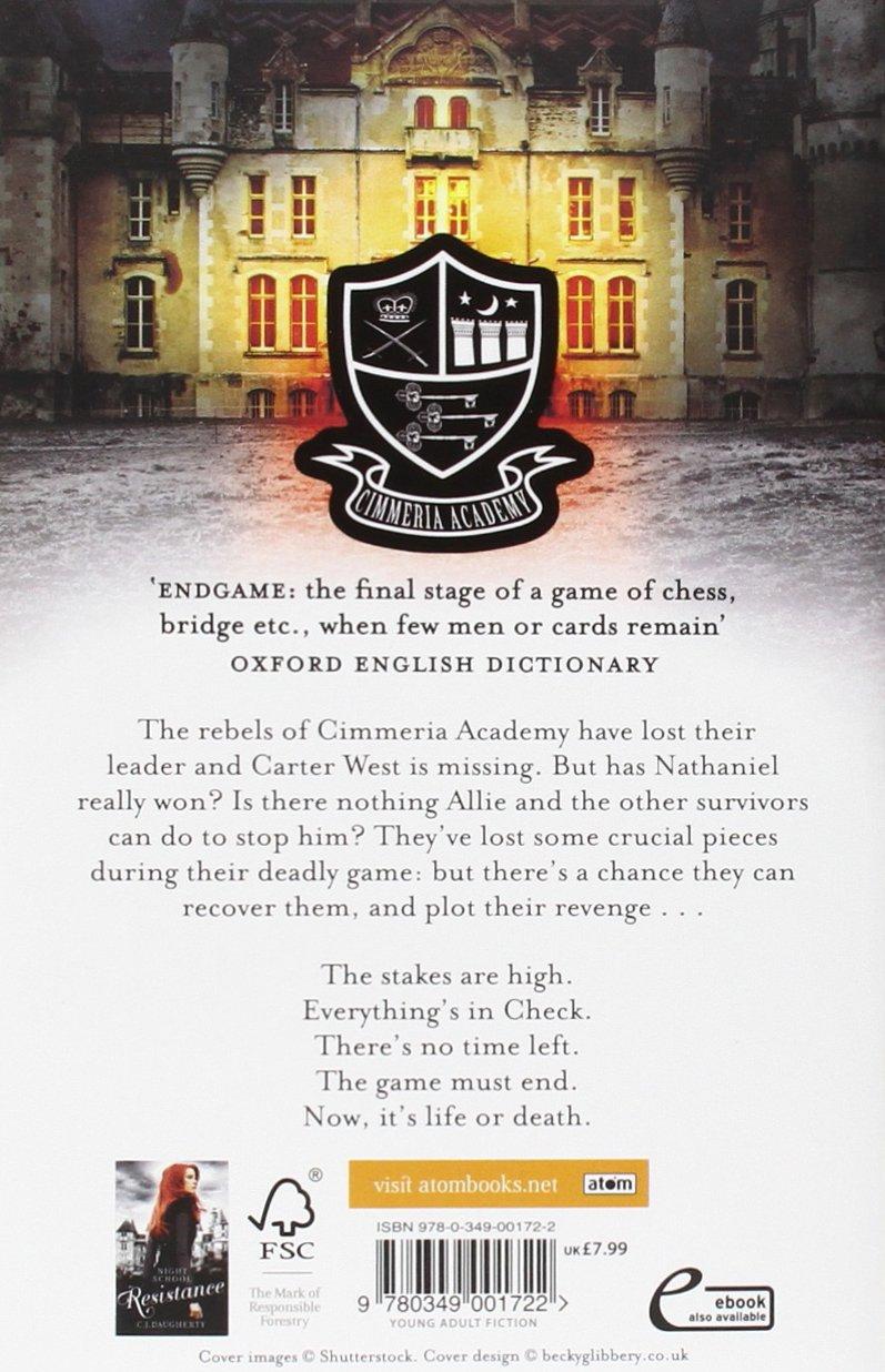 Endgame (night School): C J Daugherty: 9780349001722: Amazon: Books