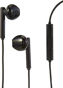 Amazon Basics Earphones with Lightning Connector - Apple MFi Certified, Black
