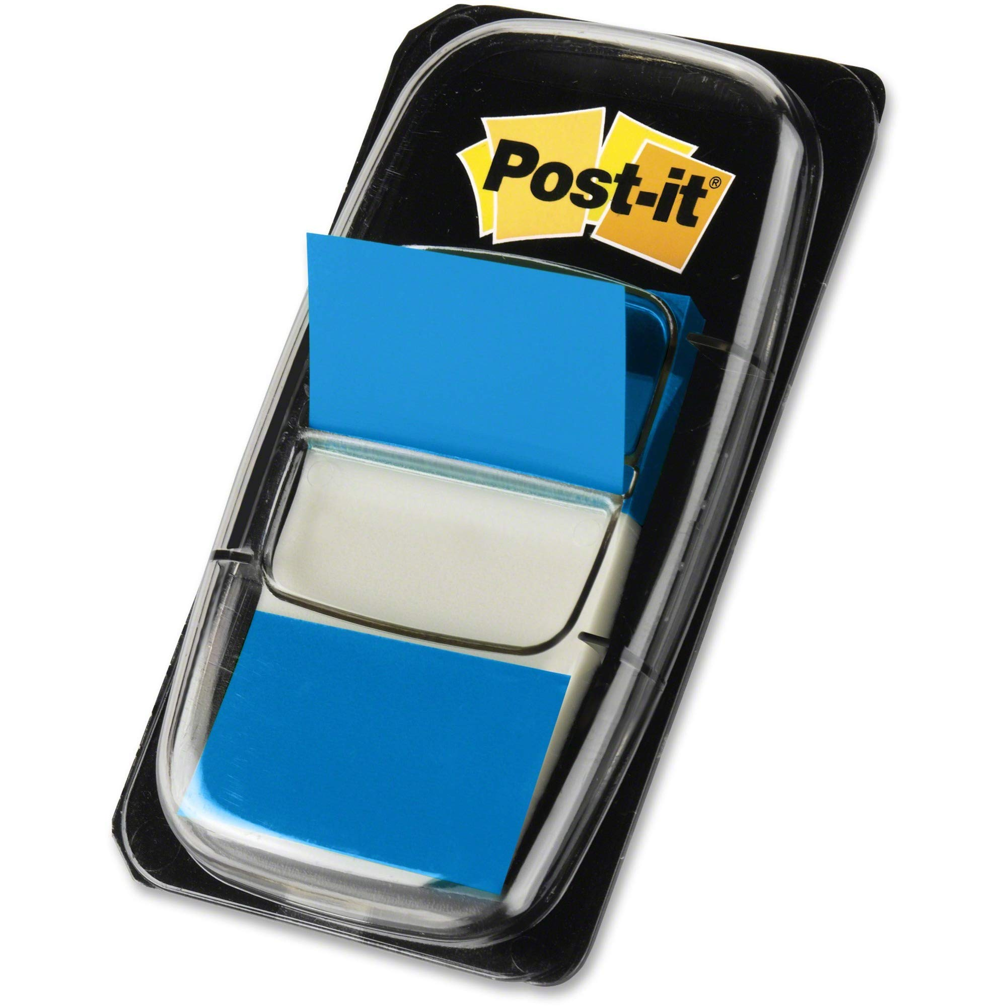Post-it, MMM680BE12, Flags Value Pack, Blue, 1 Inch Wide, 50/Dispenser, 12 Dispensers/Pack, Sold As 6 Packs (Total 3600 Dispensers) (Renewed) by Post-it