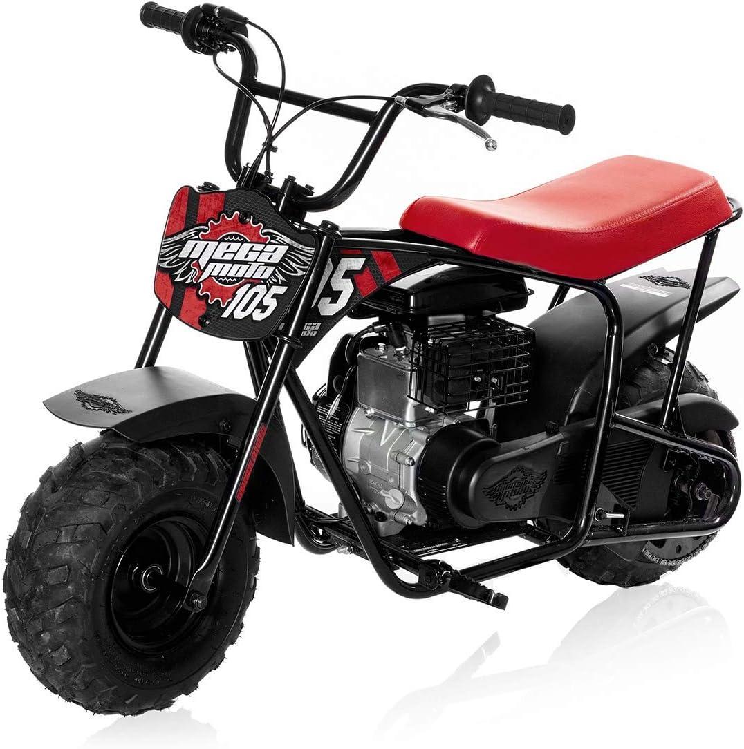 Mega Moto - Gas Mini Bike - 105CC/3.5HP Without Suspension
