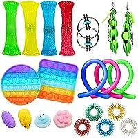 Fidget Toy Pop It Sensory Toy Set 21st Children Stress Lighting Toy Fidget Toy Set Special Toy Classification for…