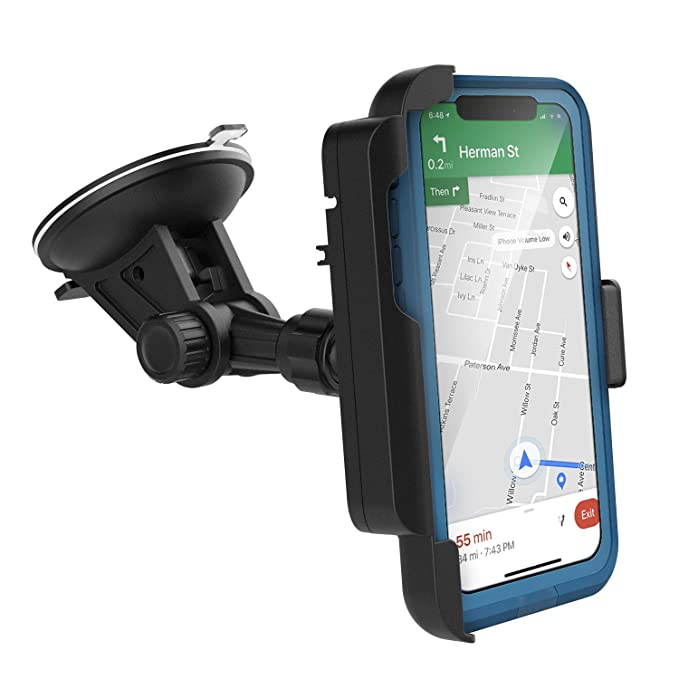 new product 3a410 7345f Encased Car Mount for Lifeproof Fre Case iPhone X - Fully Adjustable  Vehicle Dock, Windshield & Dashboard Compatible