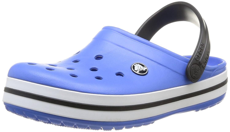 crocs Unisex-Erwachsene Crocband Clogs Blau (Varsity Blue/Black)2018 Letztes Modell  Mode Schuhe Billig Online-Verkauf