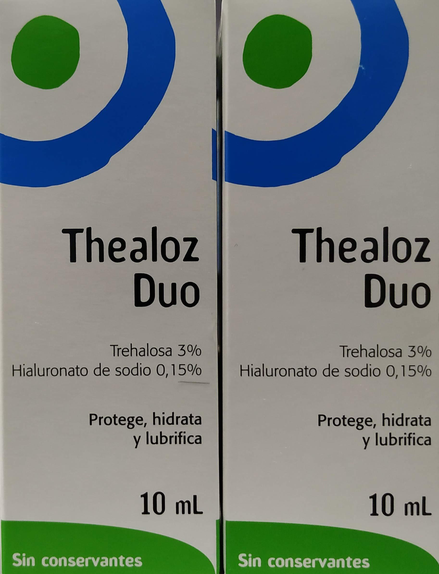 Spectrum Thea 2 X Thealoz Duo Eye Drops 10Ml