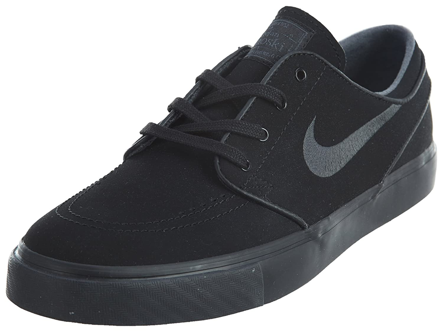 zaoszczędź do 80% Hurt bliżej na NIKE Mens SB Zoom Stefan Janoski Zoom Air Skateboarding Shoes Black 5  Medium (D)