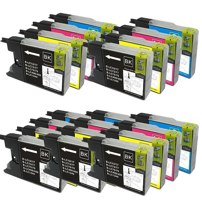 Colour Direct 20 XL Color Direct Cartuchos de Tinta LC1280 para ...