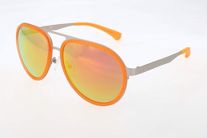 Calvin Klein Jeans Gafas de sol, Amarillo (Yellow), 57.0 ...