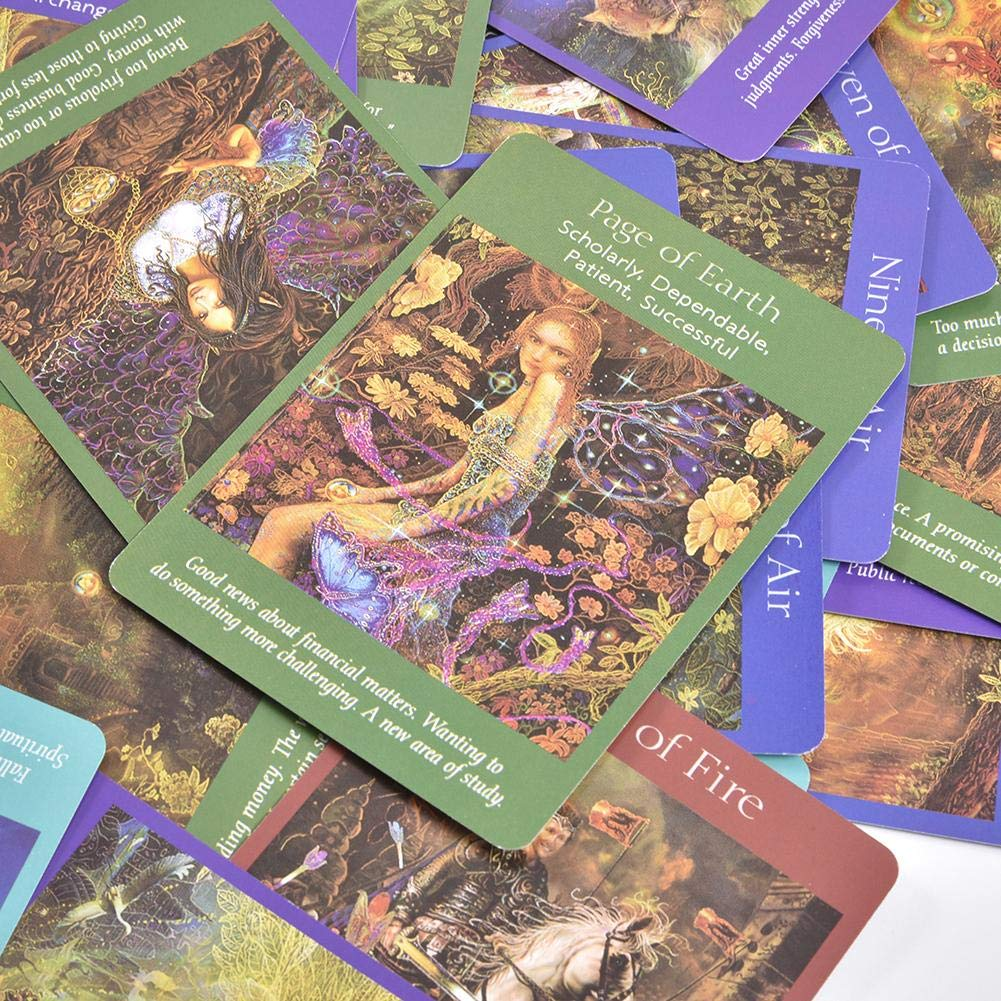 Card Deck and Guidebook Cards-78 Sheets Angel Tarot Cards