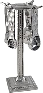 product image for Crosby & Taylor Honey Bee Pewter Measuring Spoons with Display Post