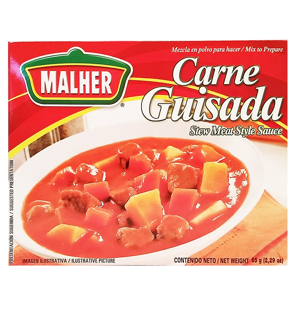 Malher Stewed Meat Mix 2.29 oz - Carne Guisada