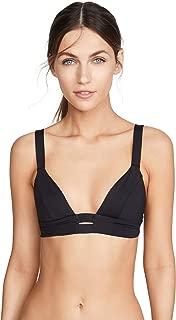 product image for Vitamin A Women's Black Neutra Bikini Top