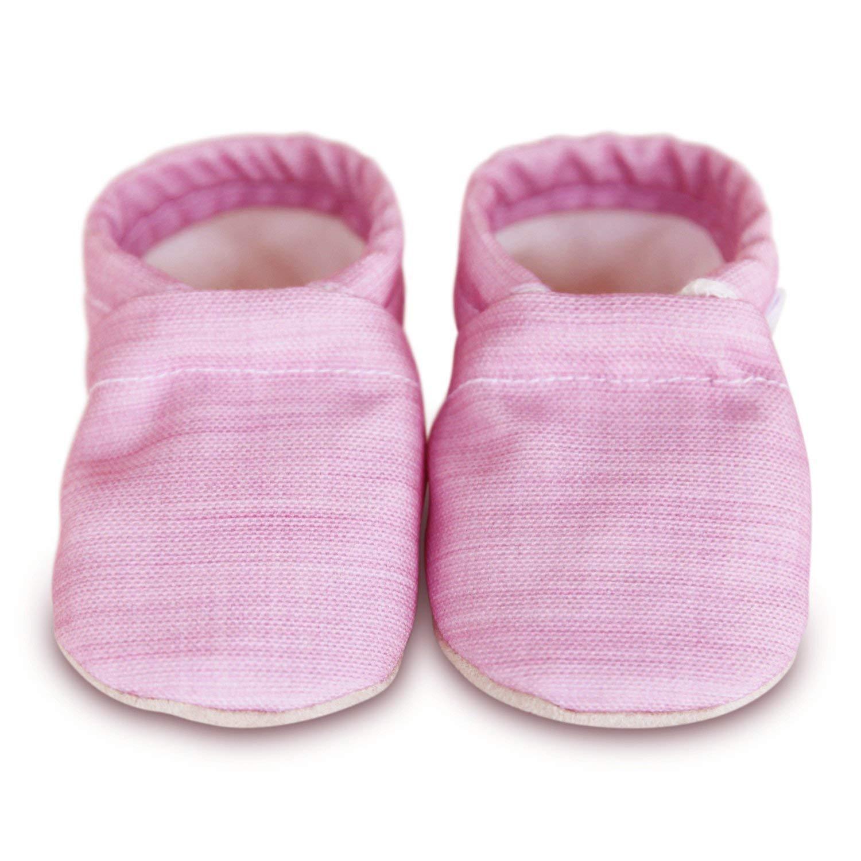 LISA Organic soft soled baby shoes