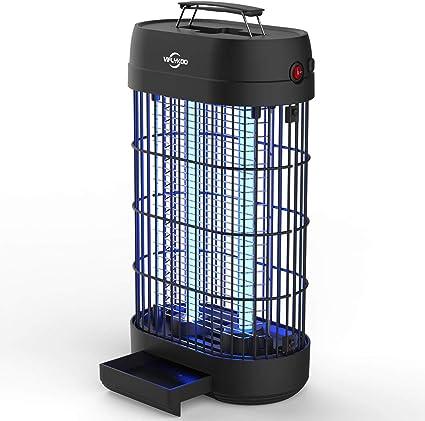 LED Piège à insectes UV électrique lampe piège piège à insectes anti-mouches