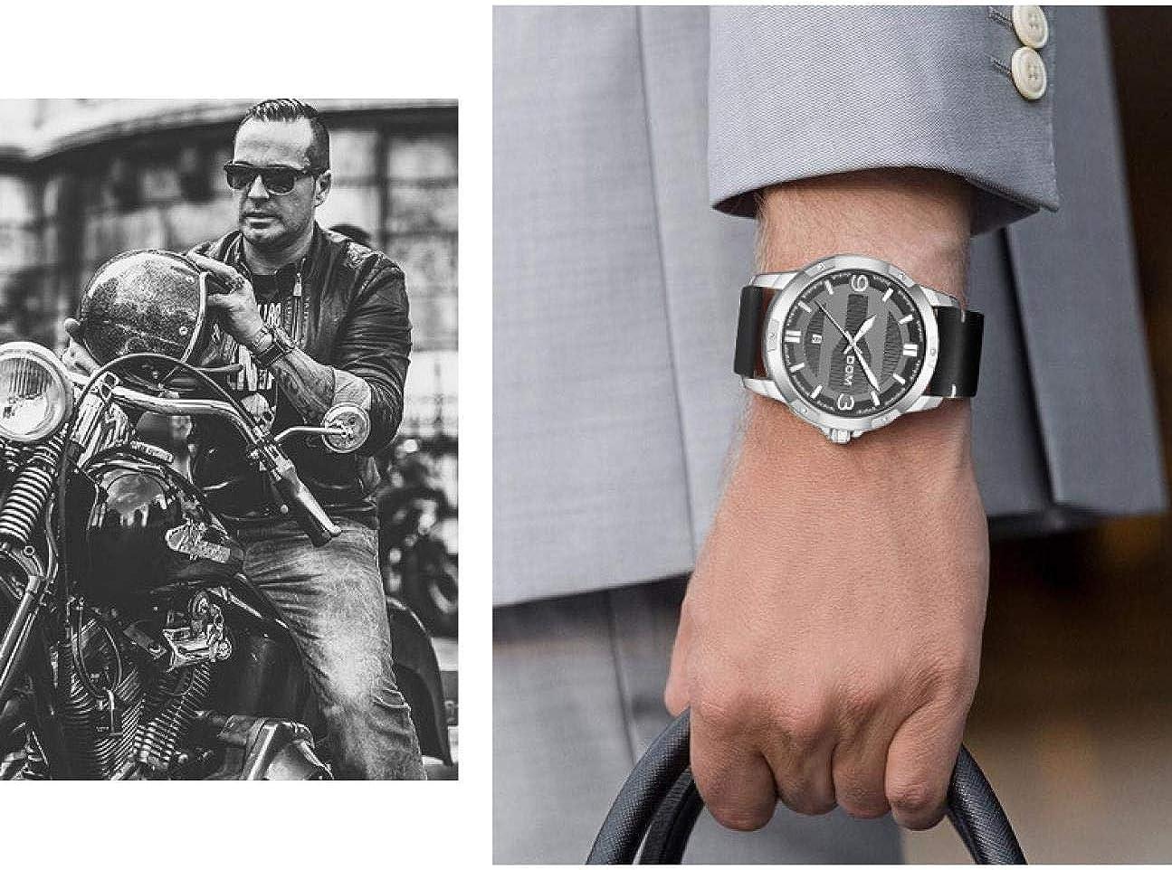 Montres Bracelet,Ceinture De Sports Et De Loisirs De Mode Montre À Quartz De Calendrier Lumineux Étanche À l'eau C