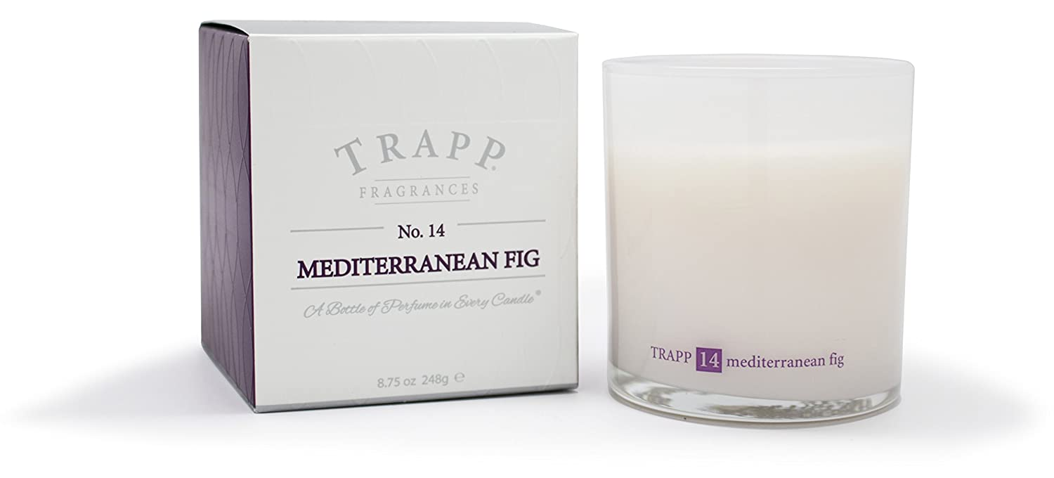 Trapp Ambiance Collection No. 14 Mediterranean Fig Poured Scented Candle, 8.75-Ounces