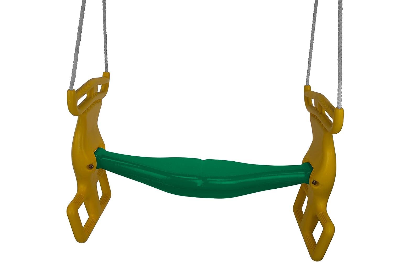 Americanスインググリーングライダーとイエローハンドルwith Rope Swing Seat – 住宅用のみ B01MSFEV6Z