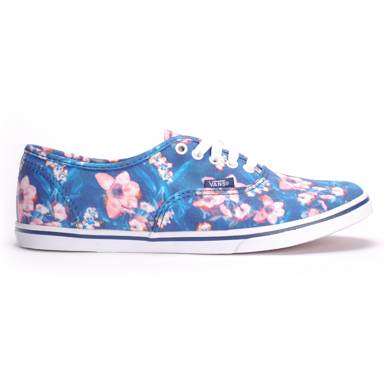 Amazon.com   Vans Authentic Lo Pro (Blurred Floral Poseidon) Women's Shoes-9.5    Shoes