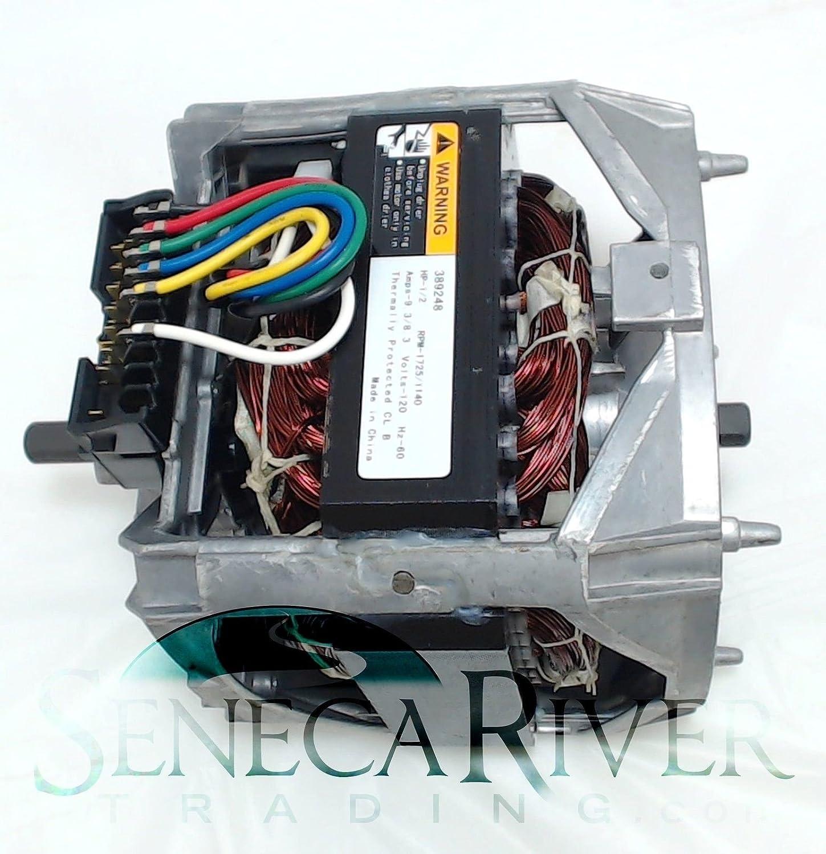 Seneca River Trading Washing Machine Motor for Whirlpool, AP6010250, PS11743427, 389248, WP661600