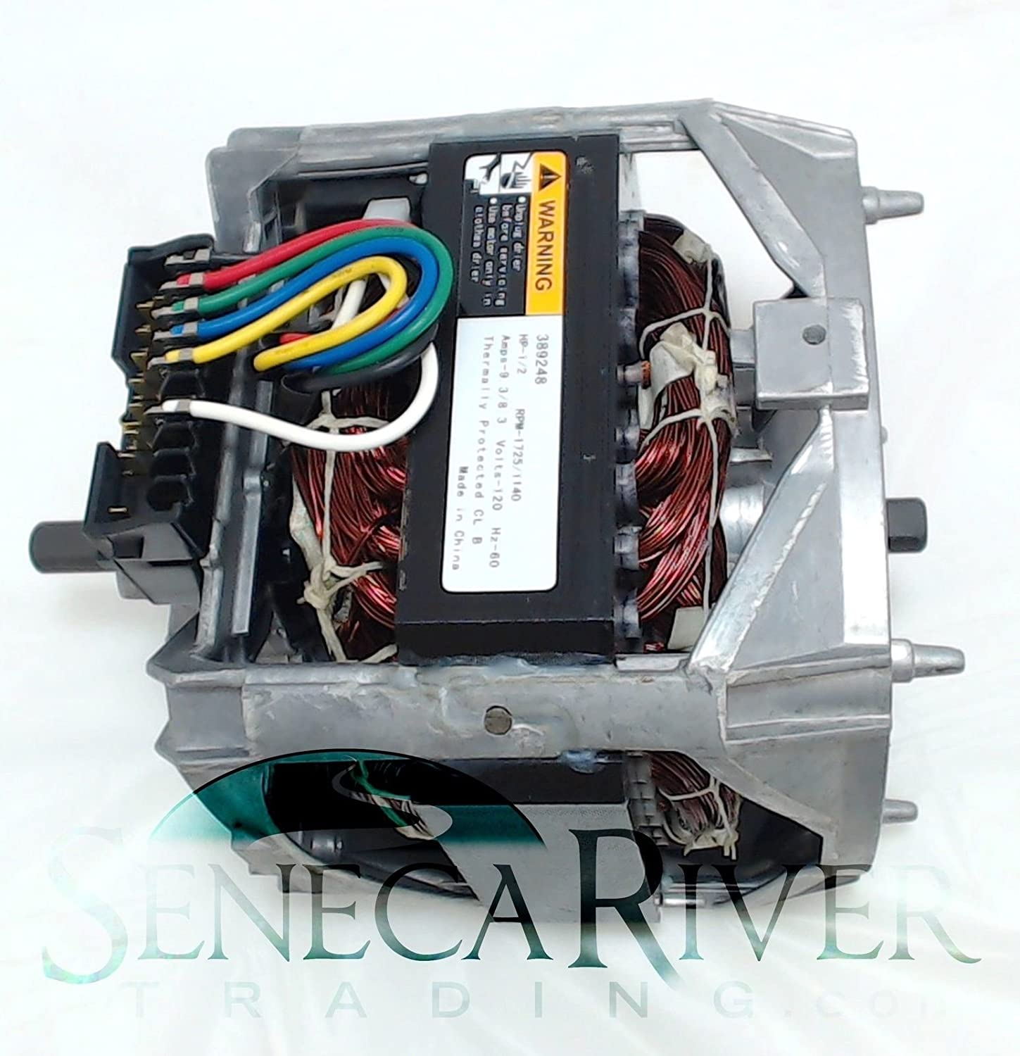 B01M7RALI3 Seneca River Trading Washing Machine Motor for Whirlpool, AP6010250, PS11743427, 389248, WP661600 71WMiaZ6NaL._SL1500_