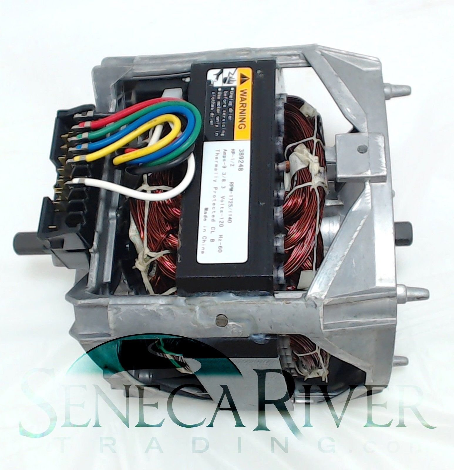 Washing Machine Motor for Whirlpool, AP6010250, PS11743427, 389248, WP661600 by Seneca River Trading