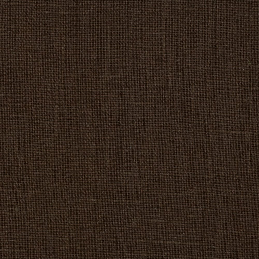 Noveltex Fabrics European 100/% Washed Linen Fabric Bayou Brown
