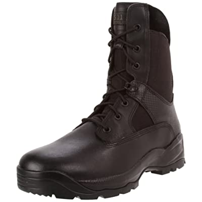 "5.11 Tactical ATAC Men's 8"" Leather Jungle Combat Military Coyote Boots, Style 12110: Shoes"