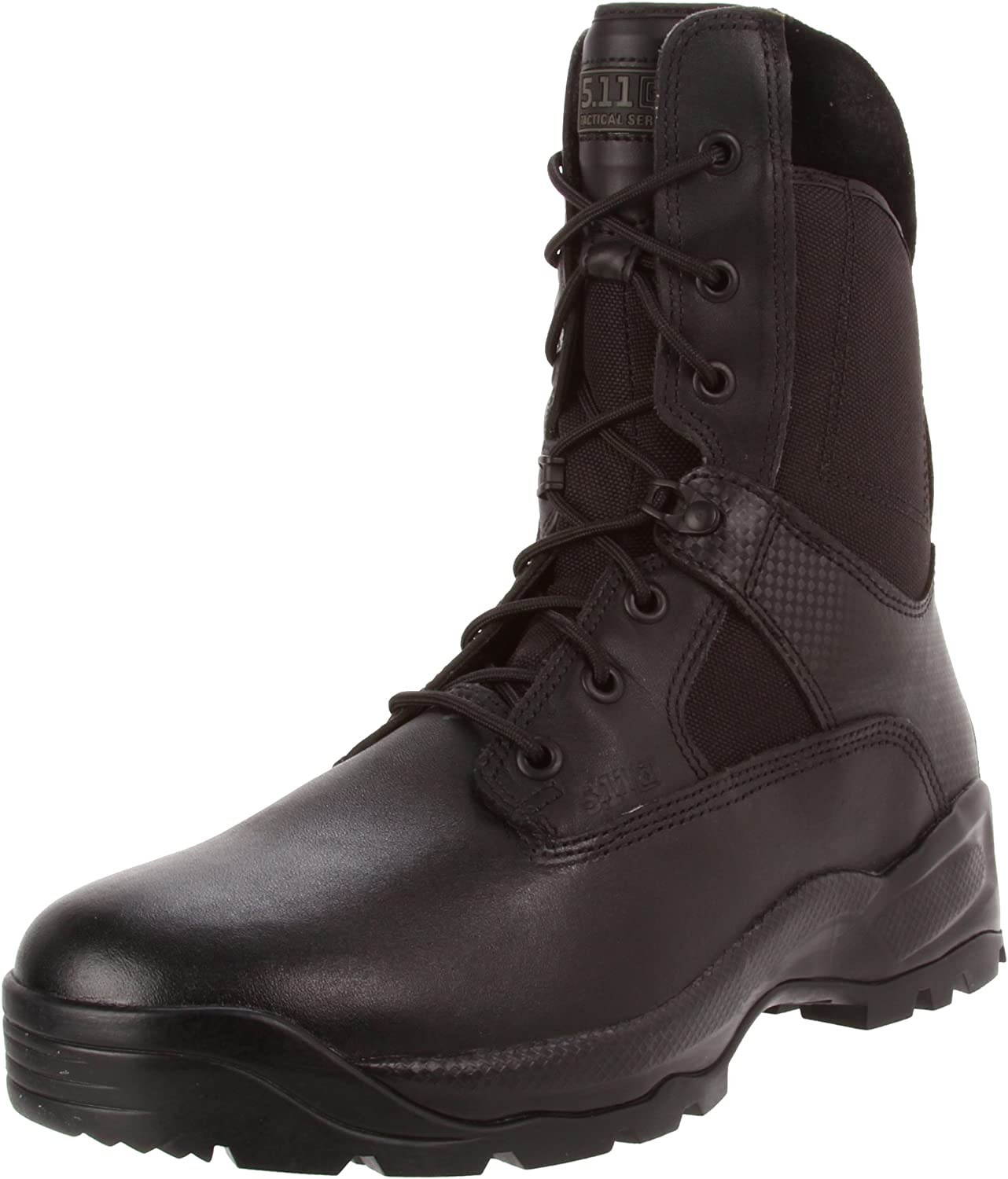 """5.11 Tactical ATAC Men's 8"""" Leather Jungle Combat Military Coyote Boots, Style 12110"""