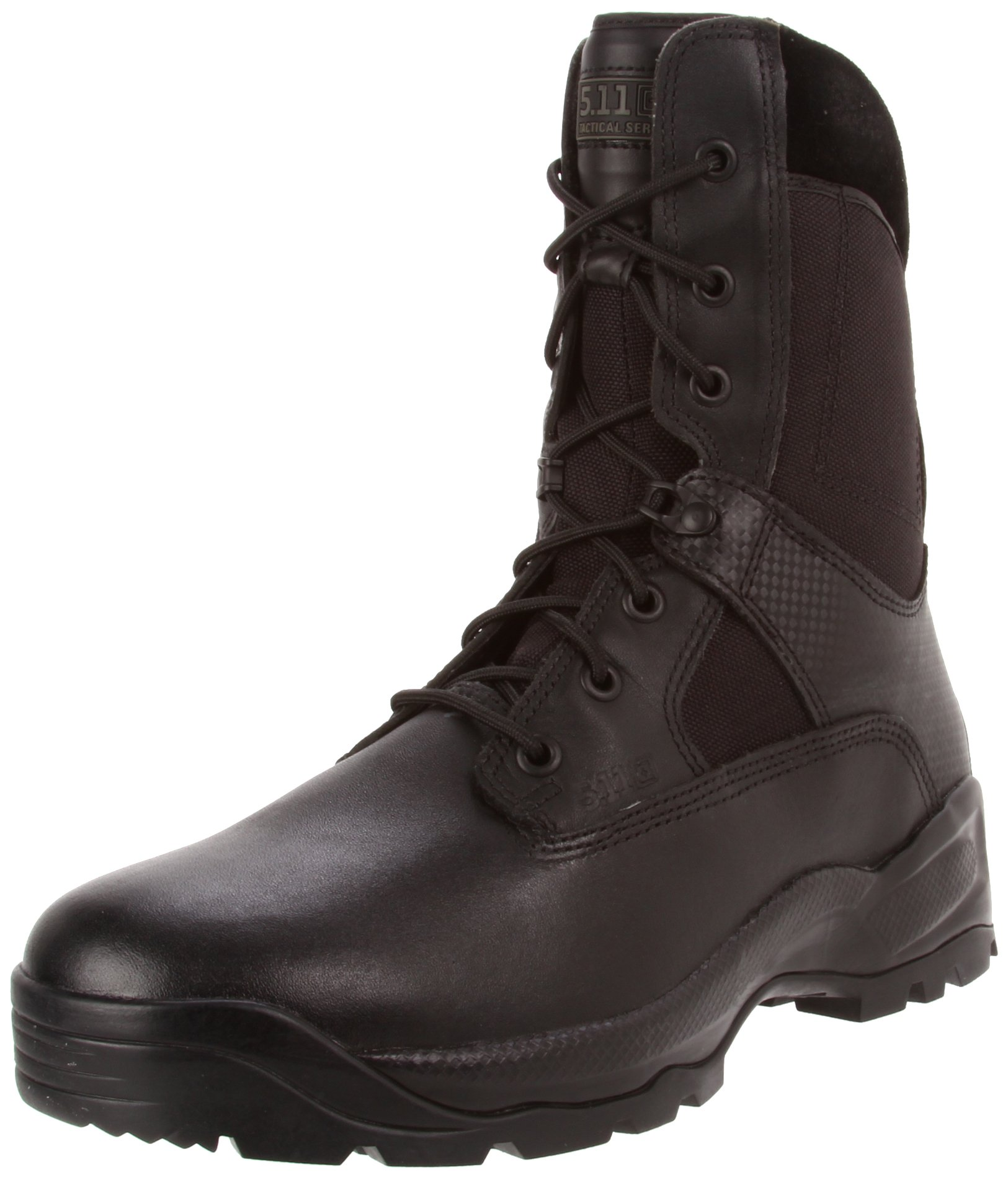 5.11 ATAC 8In Boot-U, Black, 15 D(M) US by 5.11