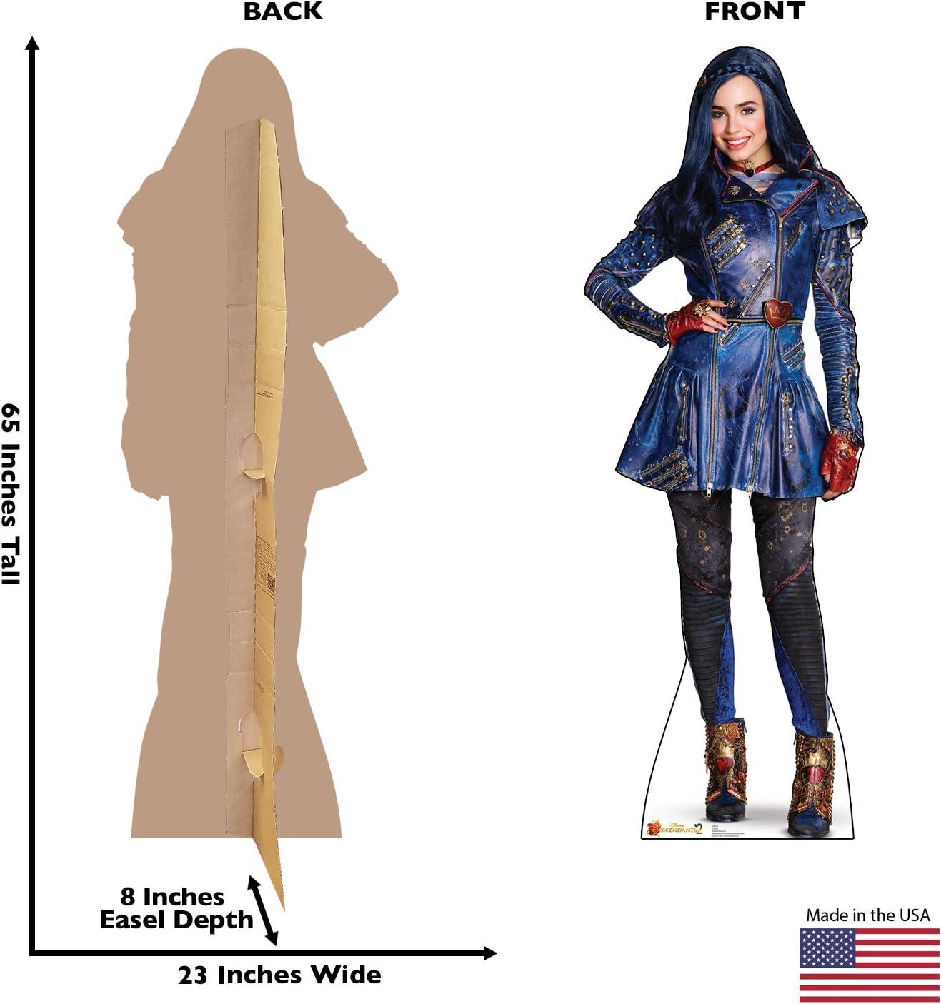 Disney Descendants 2 Advanced Graphics Evie Life Size Cardboard Cutout Standup