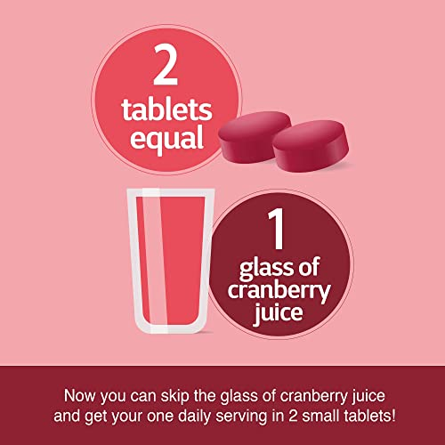 21st Century Cranberry Plus Probiotic Tablet