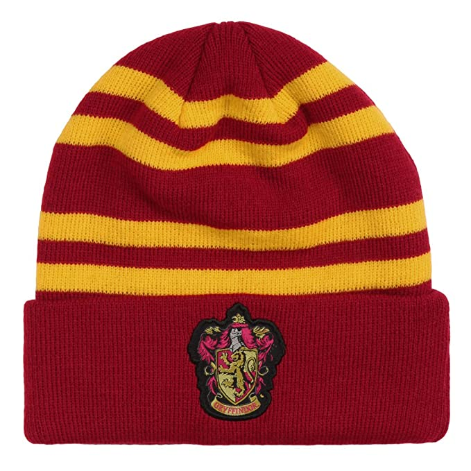 Image Unavailable. Image not available for. Color  HARRY POTTER Gryffindor  Crest Beanie e32d506cc808