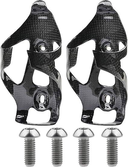 Carbon Fiber Ultralight Drink Water Bottle Cage HOLDER SCREWS FOR MTB ROAD BIKE