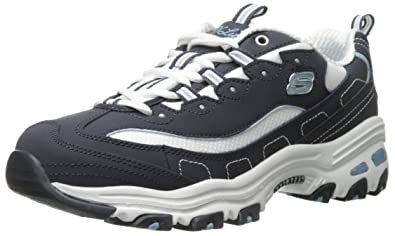 Skechers - D'Lites Biggest Fan, Scarpe da Ginnastica Donna