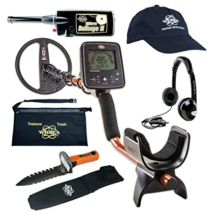 Amazon.com : Whites TreasurePro Metal Detector GEARED UP Bundle : Garden & Outdoor