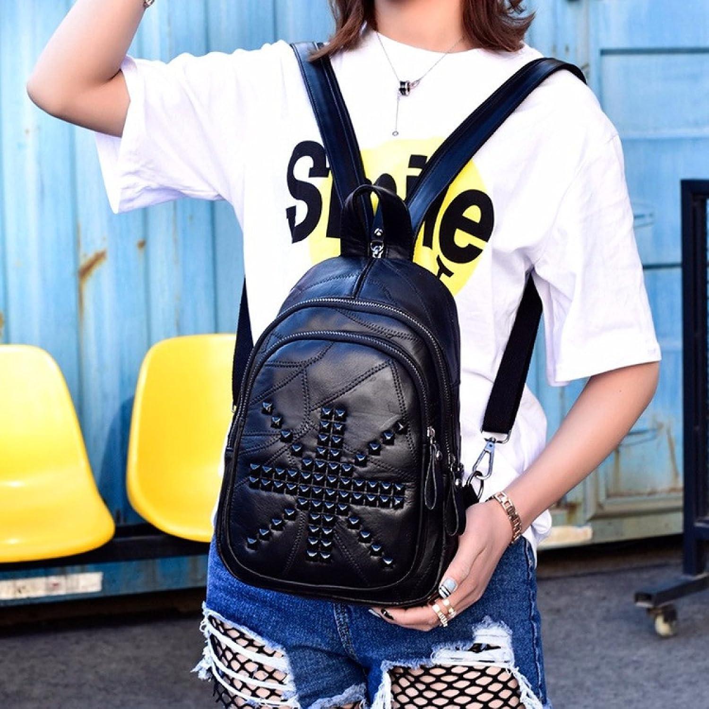 66af85cfb9964 Niet Schultertasche Korean Trendy Student Rucksack Joker Mode  Reisetasche