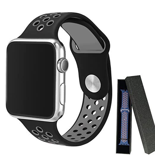 2 opinioni per Cinturino Apple Watch 42mm, Evaline Apple Watch Serie 1 Serie 2 Morbido