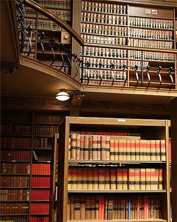 Amazon Com Aofoto 10x12ft Vintage Interior Bookcase