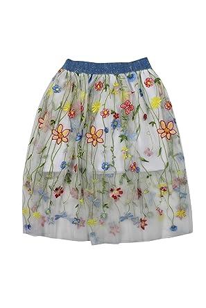 Elsy - Falda de Tul con Flores para niña Fantasía 3-6 Meses ...