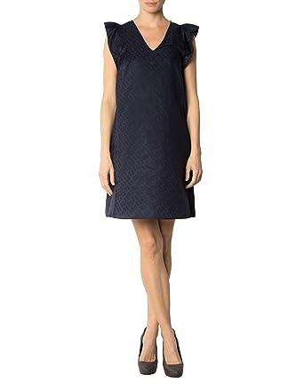 5a39fc705144c1 KOOKAI Damen Kleid Seide Dress Gemustert