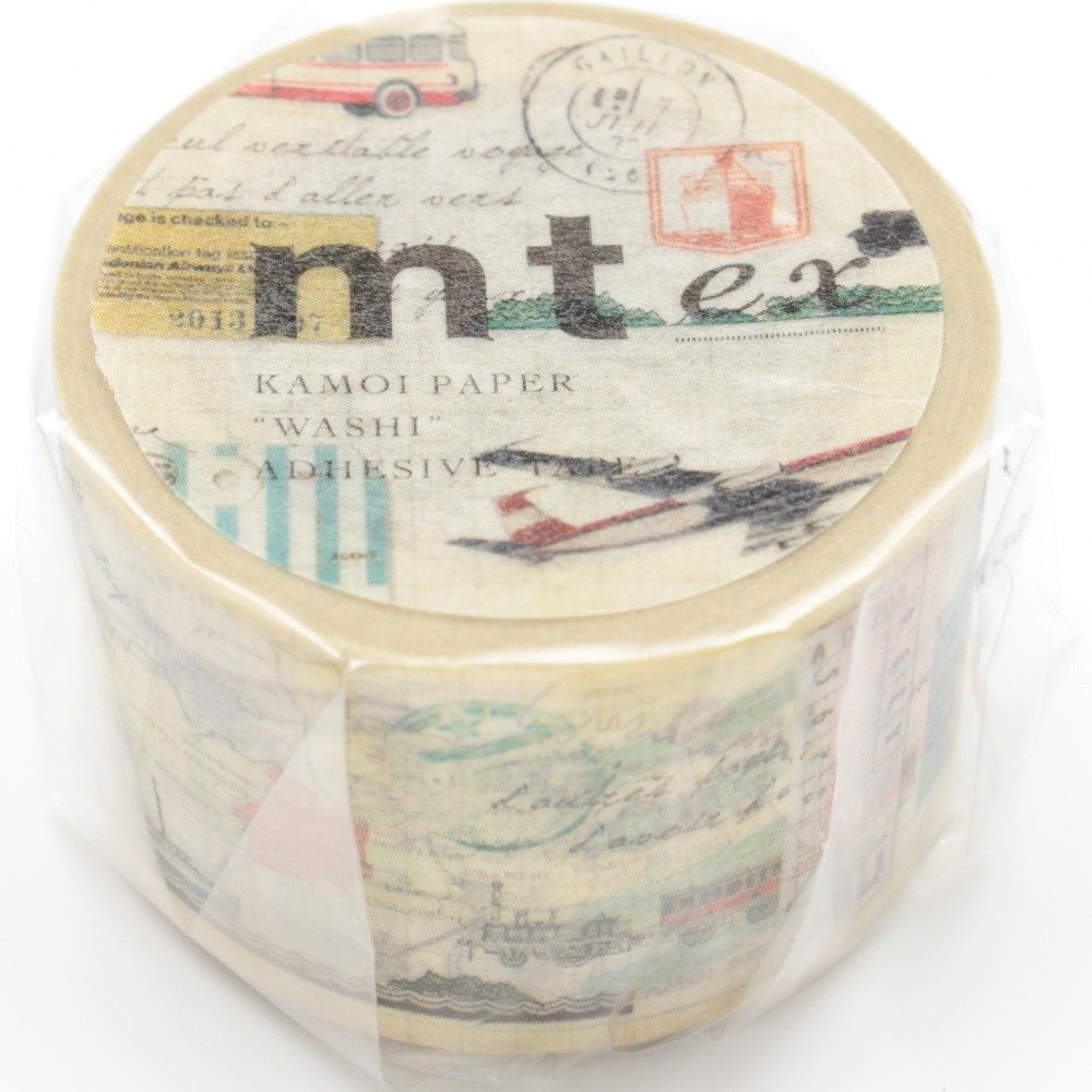 MT Masking tape EX Picture Book Plant MTEX1P34