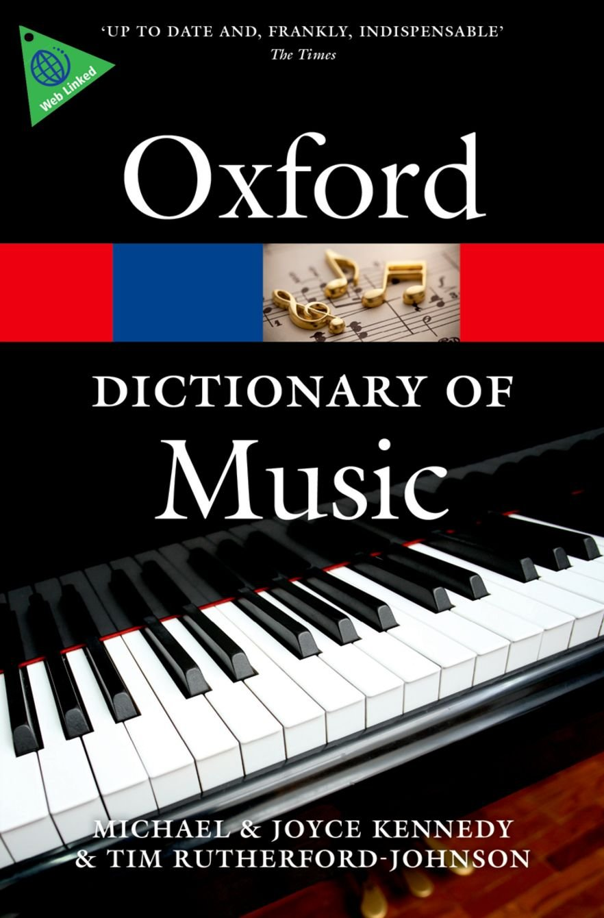The Oxford Dictionary of Music (Oxford Quick Reference): Tim