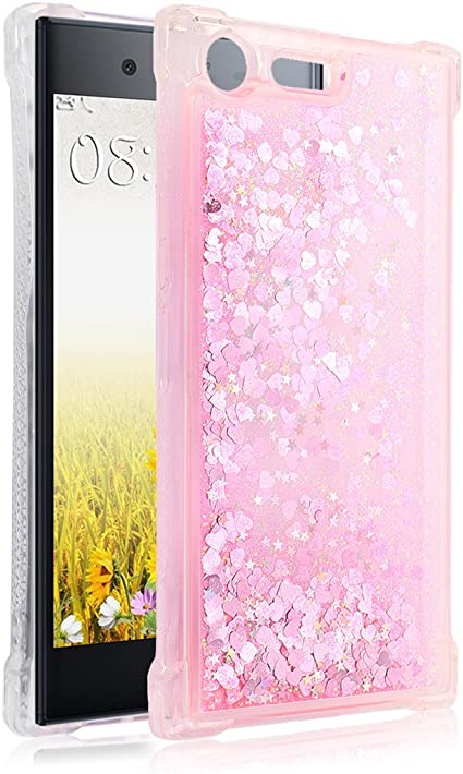 Sony Xperia XZ-2 Premium Fundas de purpurina, Moon Mood TPU ...