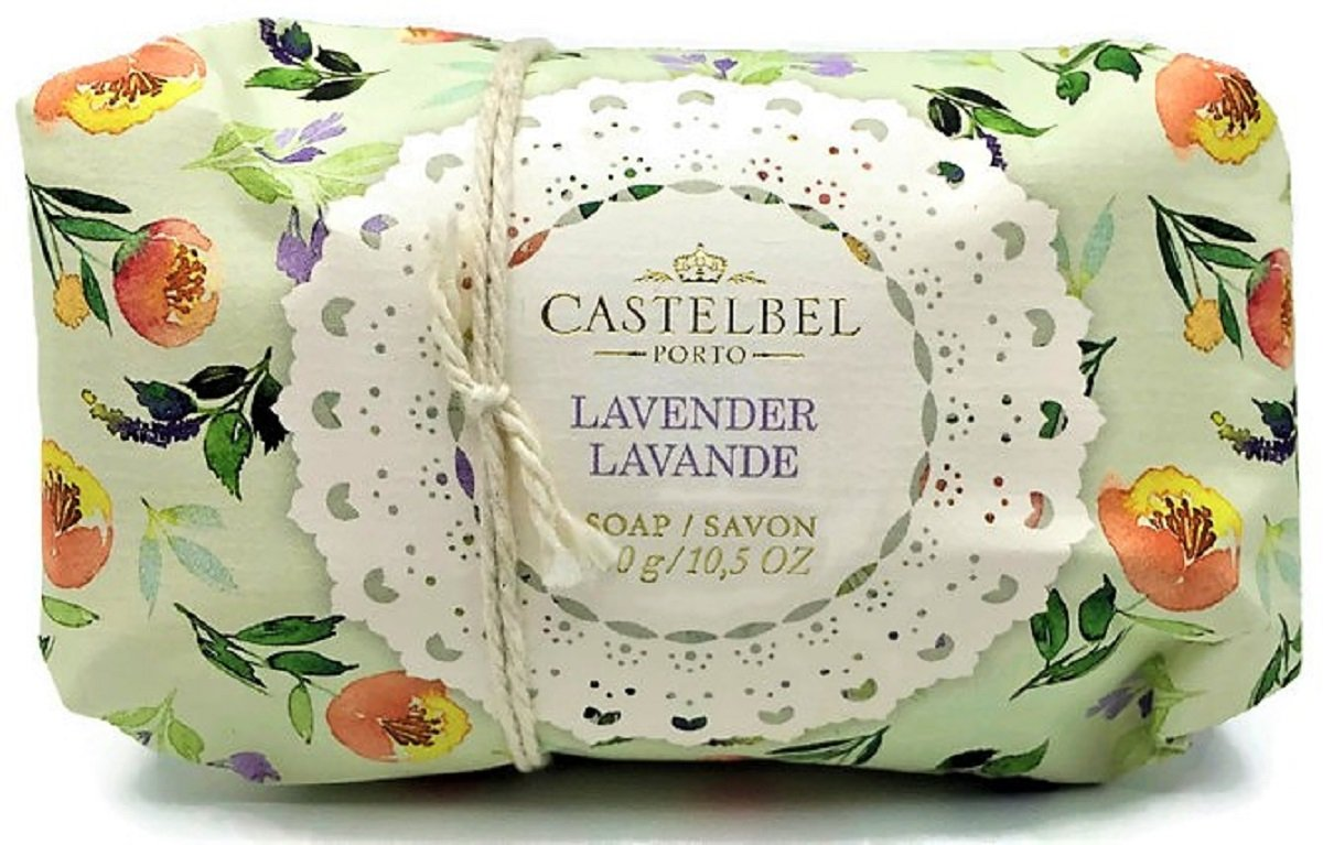 Castelbel Porto Lavender Moisturizing Luxury Soap 10.5 ounces